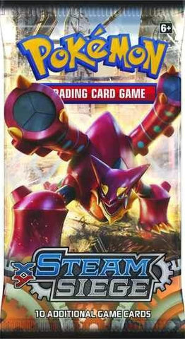 Pokemon Steam Siege Booster Pack