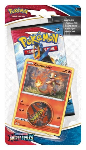 Pokemon - Battle Style - Checklane Blister - Charmander (Pre-order Mar 19 2021)