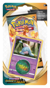 Pokemon - Darkness Ablaze - Checklane Blister - Hatenna (Pre-order Aug 14 2020)