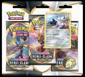 Pokemon - Rebel Clash - 3 Pack Blister - Duraludon (Pre-order May 1 2020)
