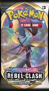 Pokemon - Rebel Clash - Booster Pack (Pre-order May 1 2020)