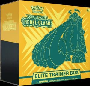 Pokemon - Rebel Clash - Elite Trainer Box - Copperajah