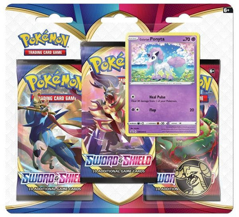 Pokemon - Sword & Shield - 3 Pack Blister - Galarian Ponyta