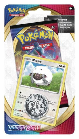 Pokemon - Sword & Shield - Checklane Blister - Wooloo