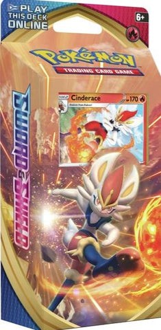 Pokemon - Sword & Shield - Theme Deck - Cinderace