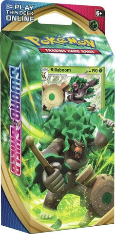 Pokemon - Sword & Shield - Theme Deck - Rillaboom