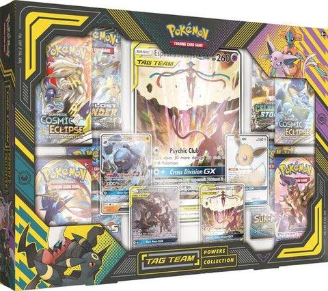 Pokemon Tag Team Powers Collection Box - Espeon & Deoxys GX