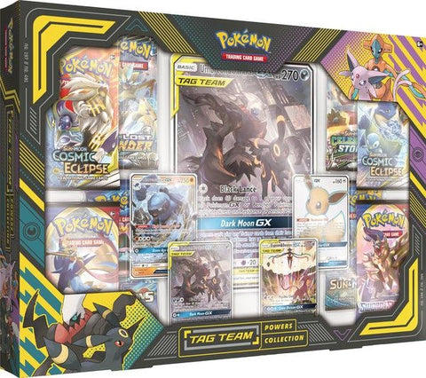 Pokemon Tag Team Powers Collection Box - Umbreon & Darkrai GX