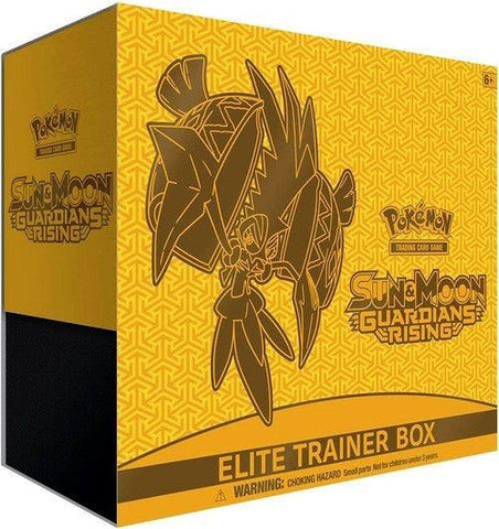 Pokemon Elite Trainer Box - Guardians Rising - Tapu Koko