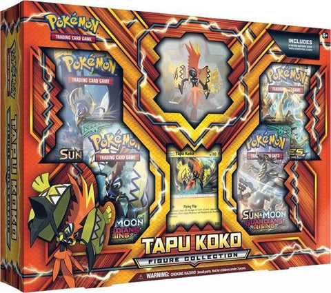 Pokemon Tapu Koko - Figure Collection Box