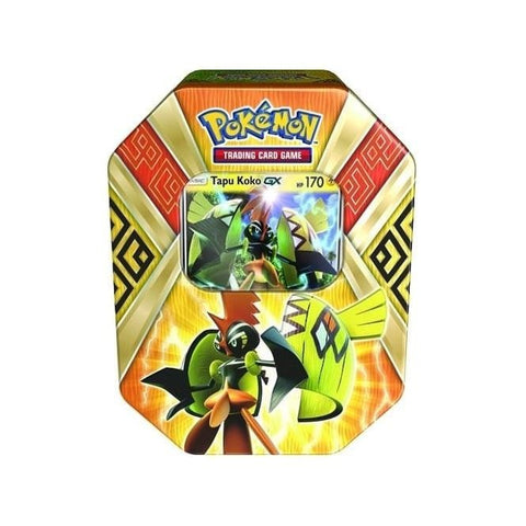 Pokemon Guardians Rising Island Guardians Tin - Tapu KoKo