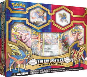 Pokemon True Steel Premium Collection Box - Zacian