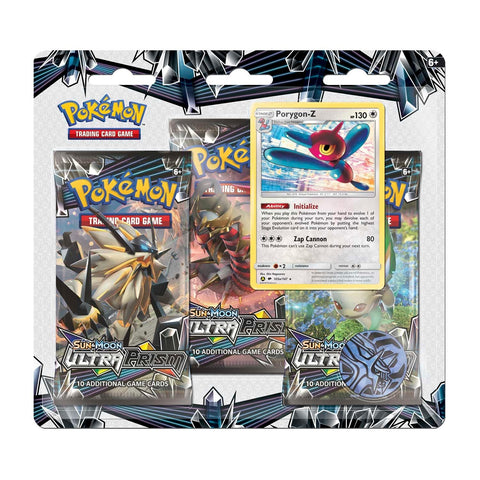 Pokemon - Ultra Prism 3 Pack Blister - Porygon-Z