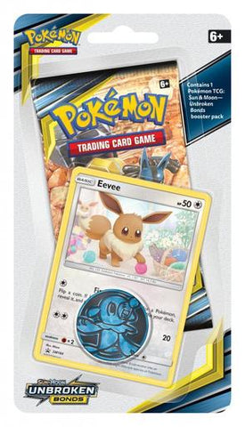 Pokemon - Unbroken Bonds - Checklane Blister - Eevee