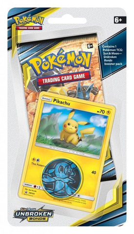 Pokemon - Unbroken Bonds - Checklane Blister - Pikachu