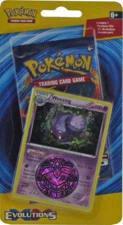 Pokemon Evolutions 1 Pack Blister - Weezing