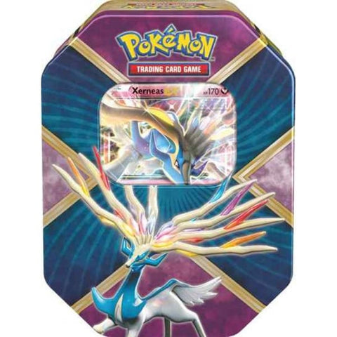 Pokemon Shiny Kalos Tin - Xerneas EX