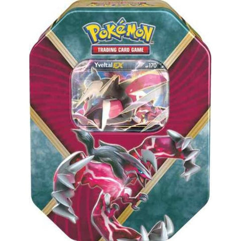 Pokemon Shiny Kalos Tin - Yveltal EX
