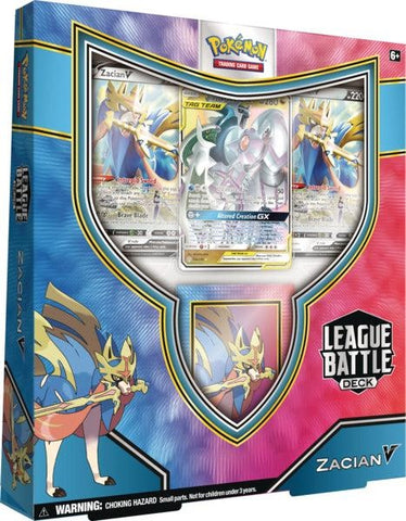 Pokemon Zacian V League Battle Deck