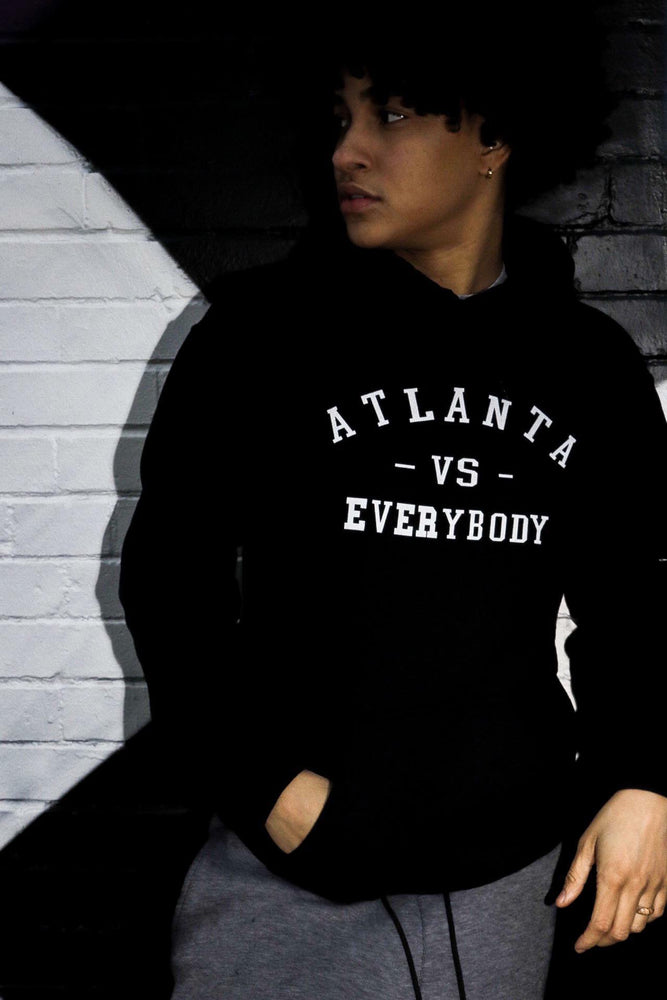 Atlanta Vs. Everybody | Hoodie - BLACK GESUS