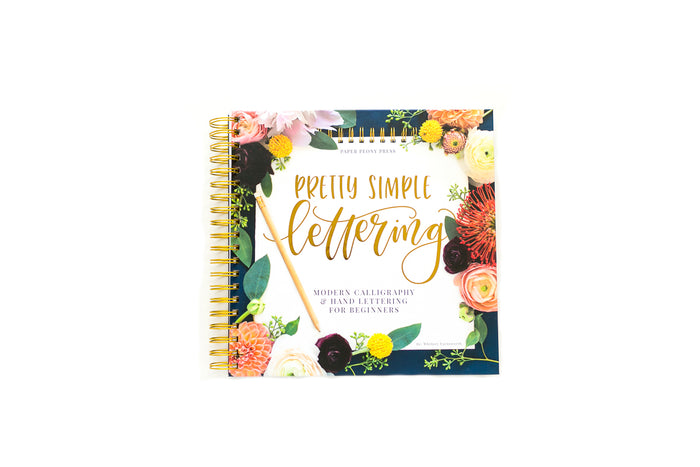 Pretty Simple Lettering Book