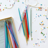 Beeswax Birthday Candles Tall - Singles