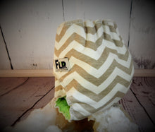 Chevron Mushroom, Newborn All-in-two Cloth Diaper