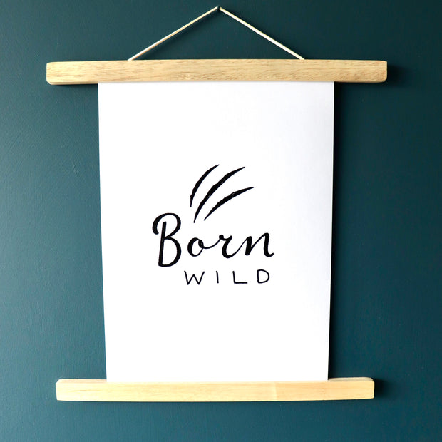 Born Wild Print - Little Drop In The Ocean