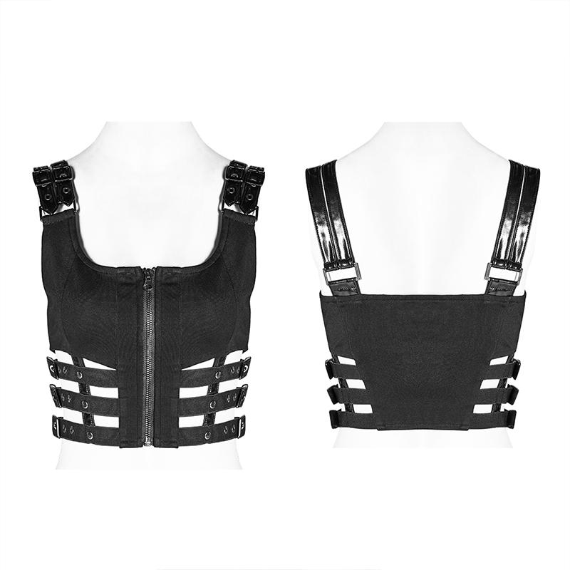 Cyberpunk Buckle Tank Top