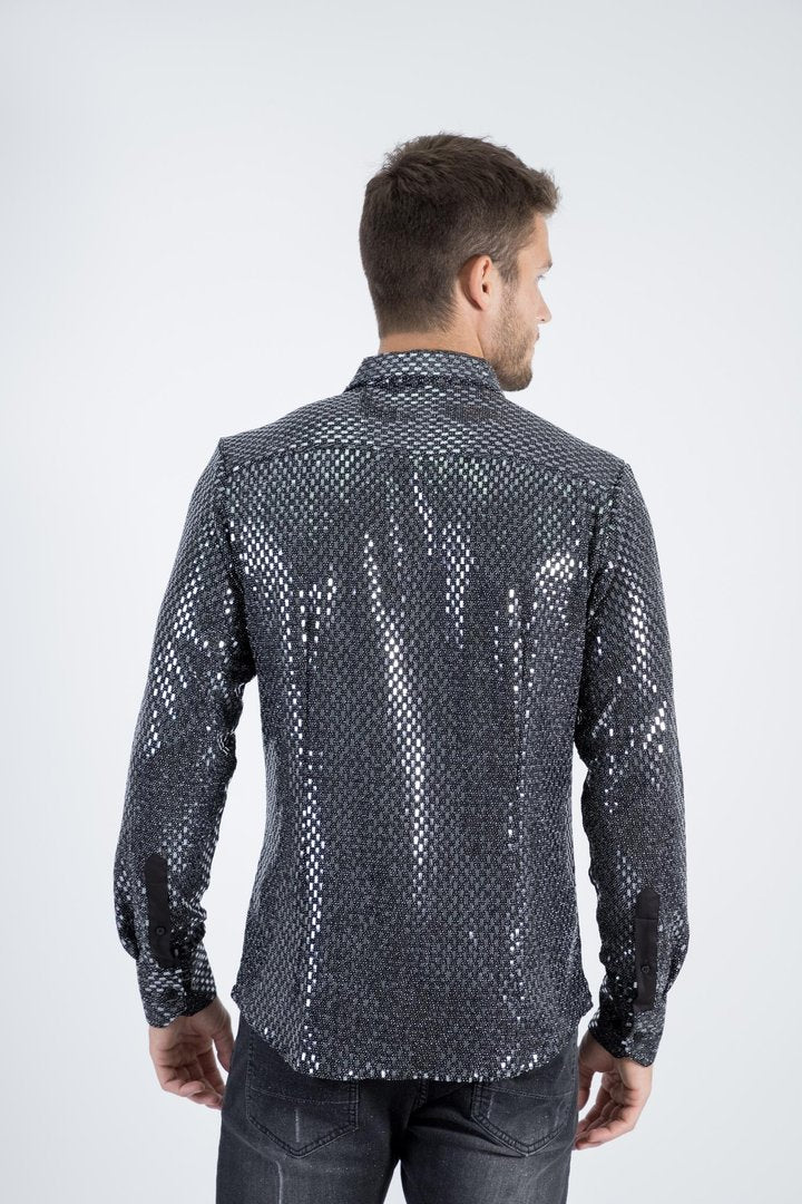 Disco King Longsleeve Button Up