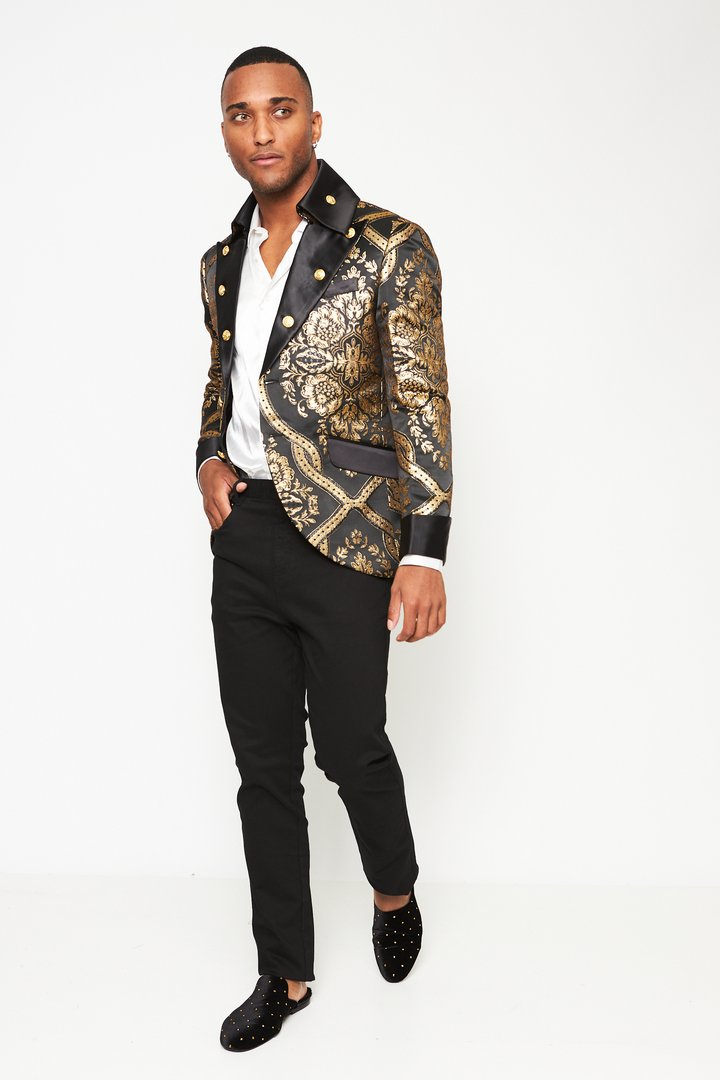 Brocade Captains Jacket