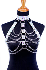 Holographic Rib Cage Harness