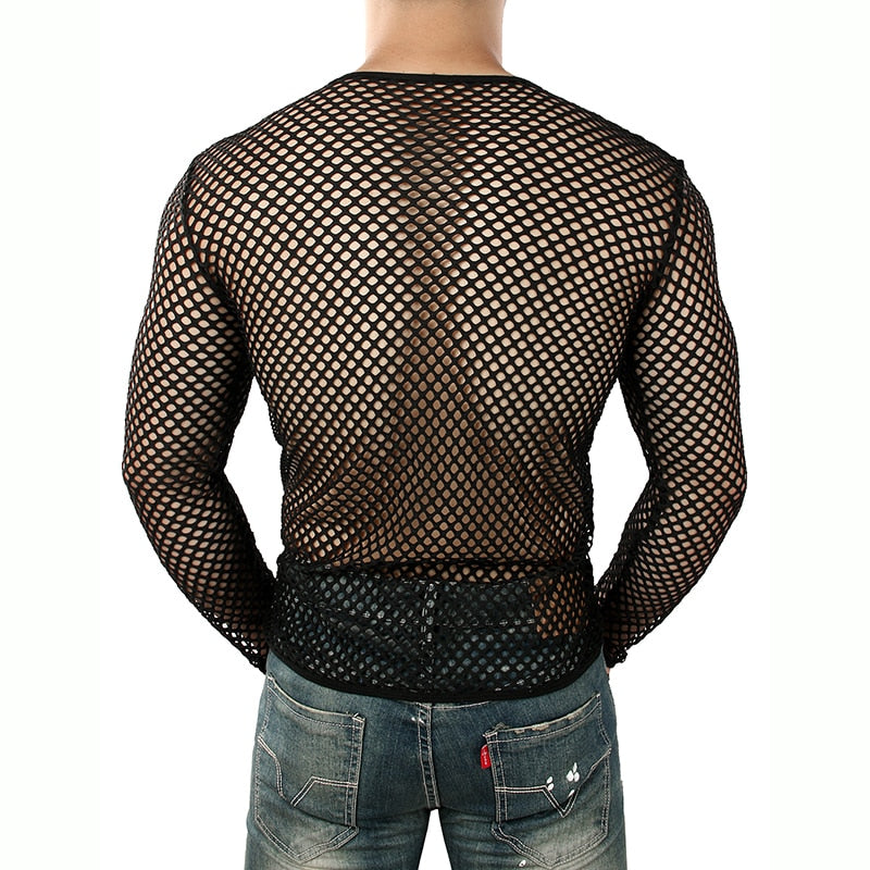 Fishnet Mens Long Sleeve