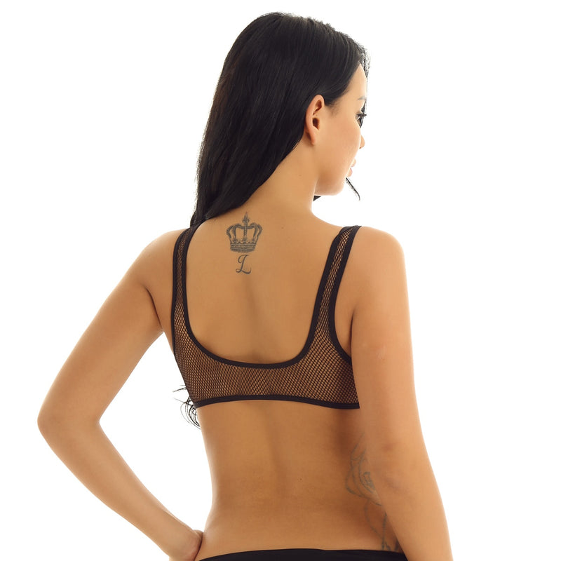 Fishnet Sports Bra ONE SIZE