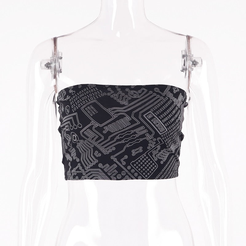 Reflective Tube Top SMALL