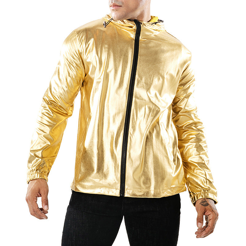 Metallic Jacket Mens
