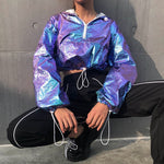 Purple Haze Space Hoodie
