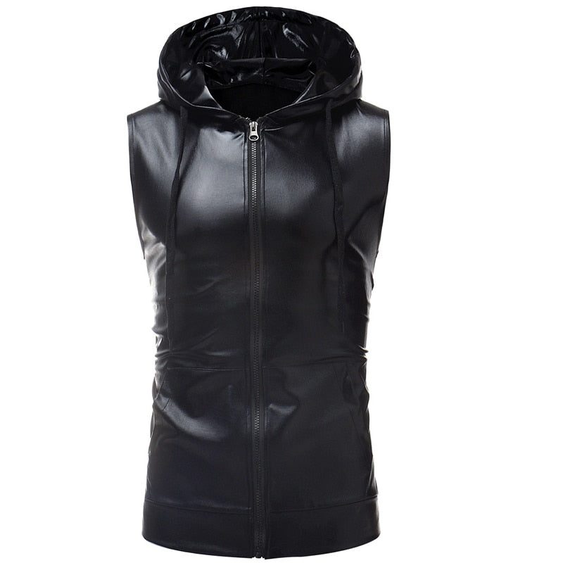 Metallic Vest Mens