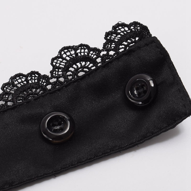 Men's Victorian Lace Collar