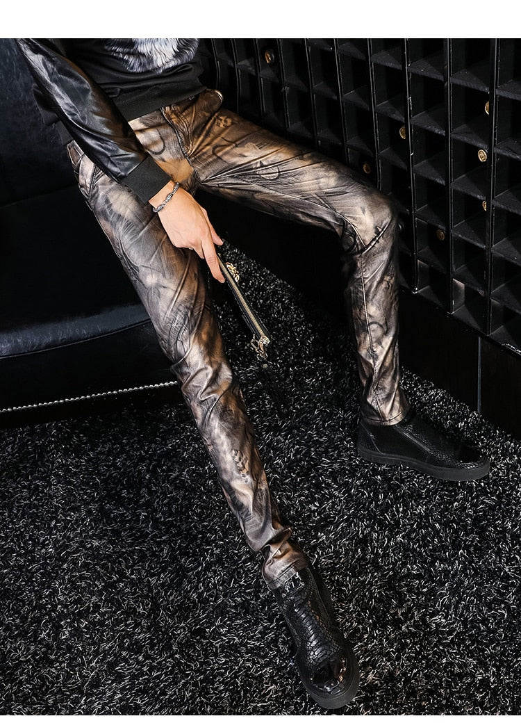Shaman Vegan Leather Pant
