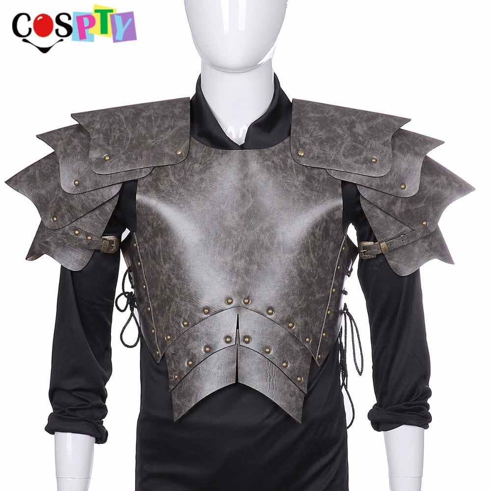 3 Piece Vegan Leather Armor