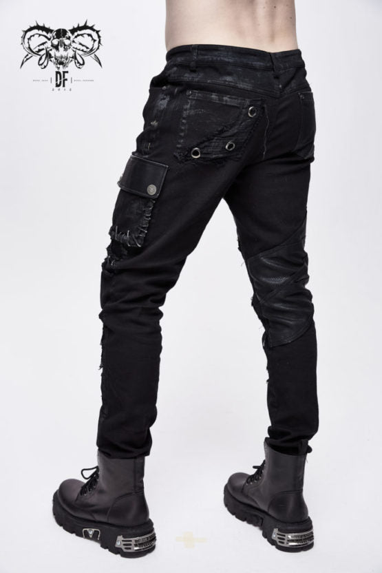 Punk Distressed Pant
