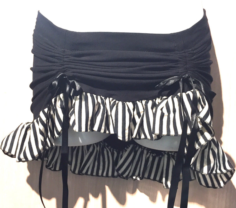 Ruffle skirt in dirty pirate