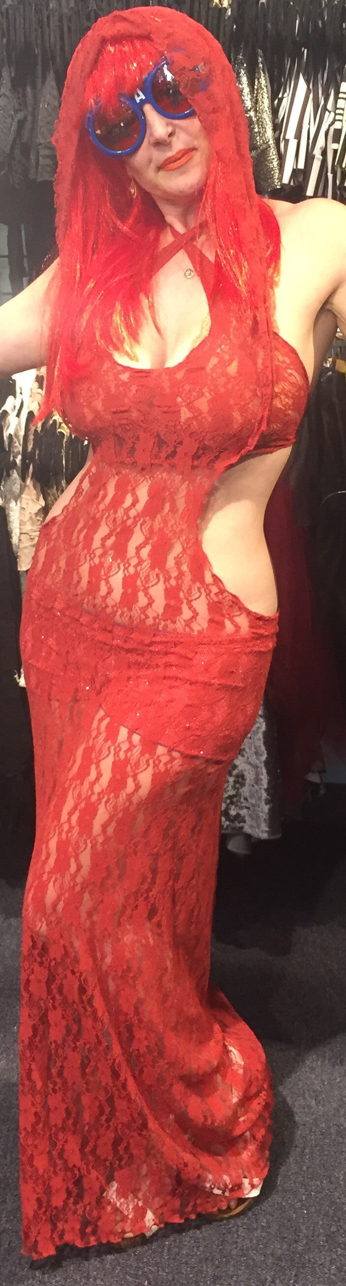 Rusty Red Gown