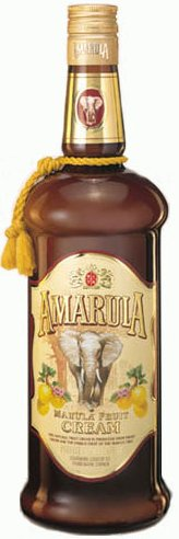 Amarula Cream Liqueur label