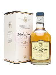 Dalwhinnie Distillery Single Malt Scotch Whisky 15 year old label