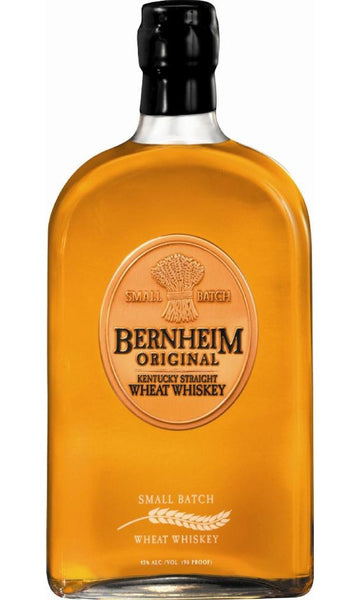 Bernheim Kentucky Straight Small Batch Wheat Whiskey 7 year old label