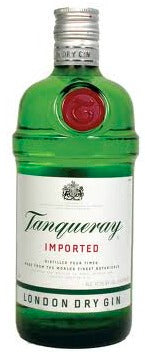 Tanqueray Imported London Dry Gin 1.75L label