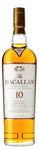 Macallan Single Highland Malt Scotch Whisky 10 year old label