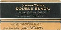 Johnnie Walker Double Black Blended Scotch Whisky label